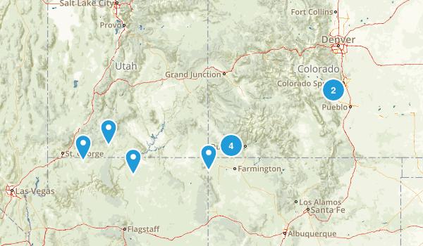 Summer 2017 Trip Map