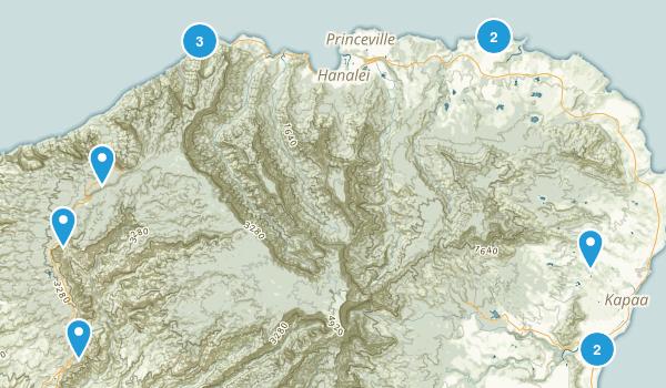 Kuaui Map