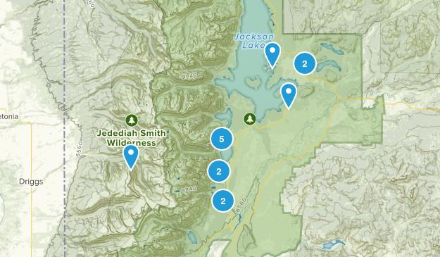 Grand Teton 2017 Map