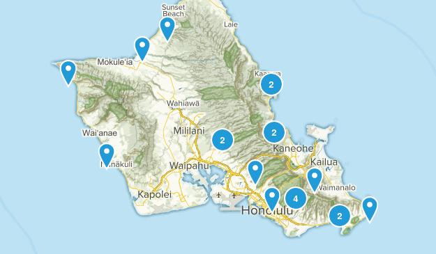 Hawaii Bucket List Map