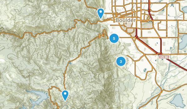 Boulder, Colorado Map