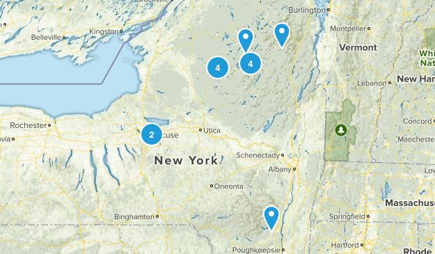 Adirondaks Map