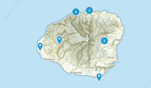 Kauai, HI Map