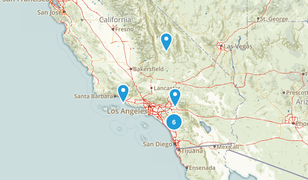 4+ miles Map