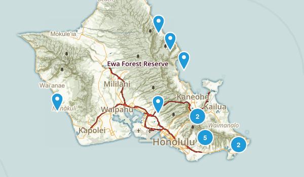 Hike List Map