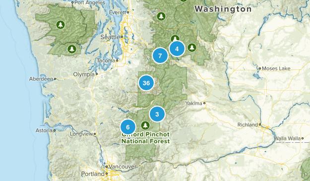 Central Cascades  Map