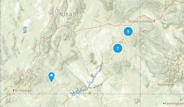 Canyon Land Map