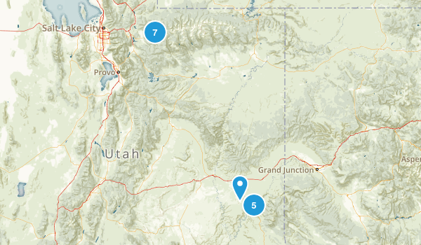 Utah Trails Map