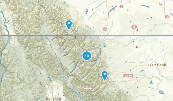 Glacier Nat. Park Map