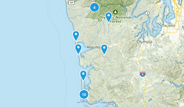 Solo Hikes Map