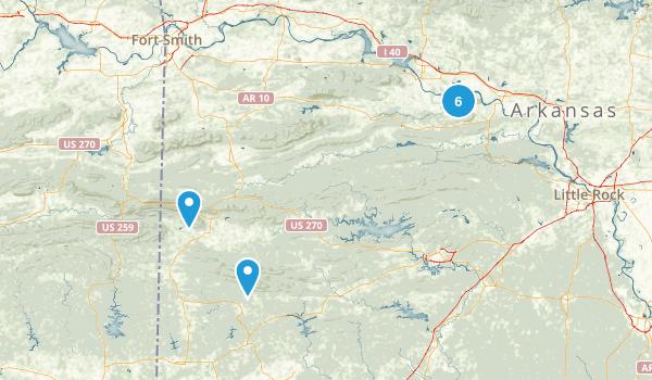 petit jean Map