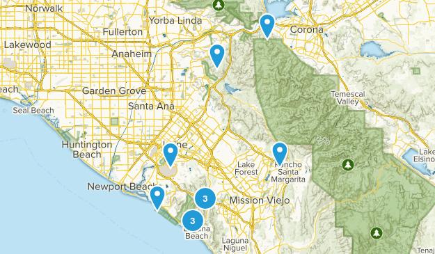 Short Hikes Map