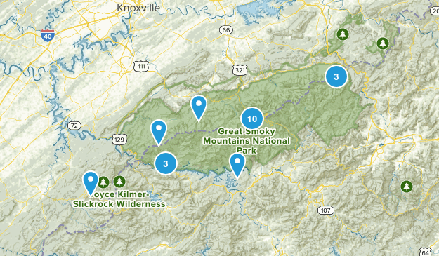 Great Smokies Map