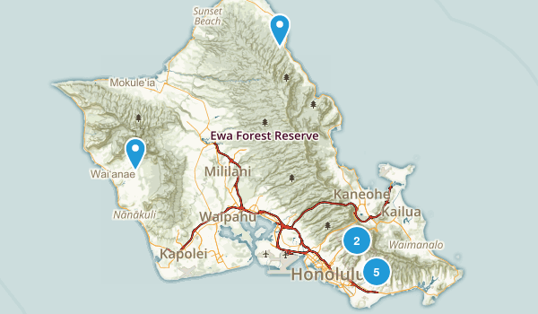 To do Oahu Map