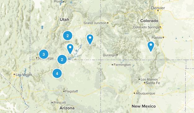 UT/ AZ summer 2017 Map