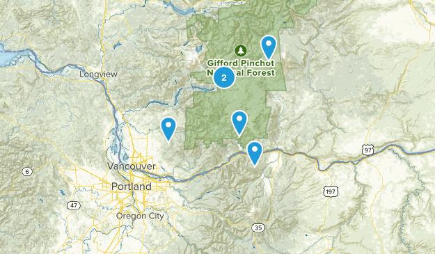 Southern Washington Map