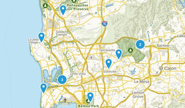 San Diego: longer Map