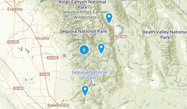 Sequoia Dog Friendly Map