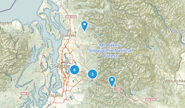 Wash - Seattle Map