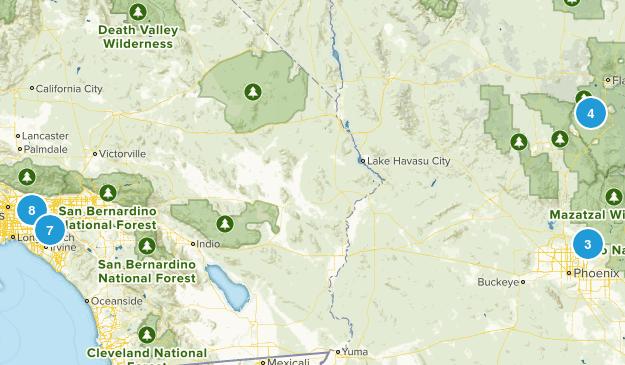 hikes to take Map