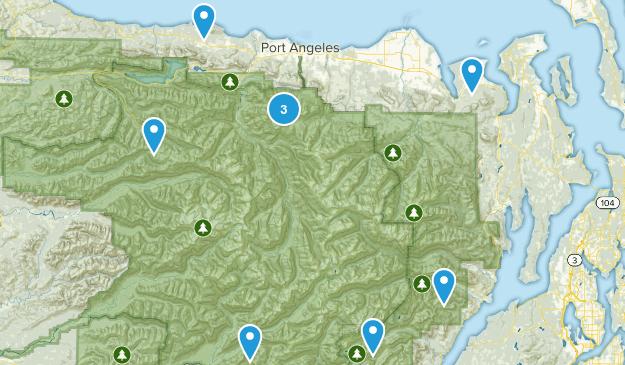 Seattle Hiking Trip Map
