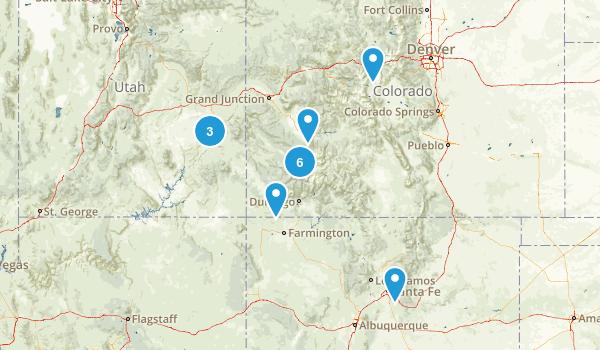 2017 Colorado-Utah-New Mexico Map