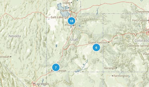 Utah Adventures Map