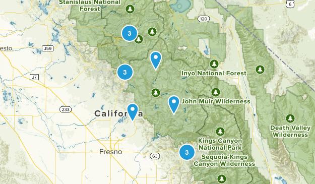 Moderate trails Map