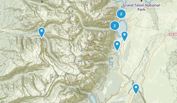Grand Teton Park Map
