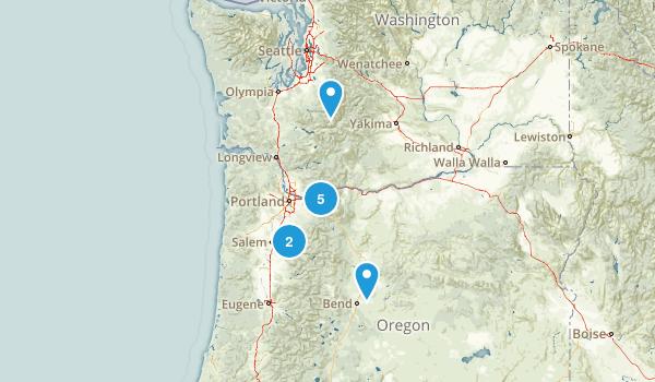 Oregon Adventure Map