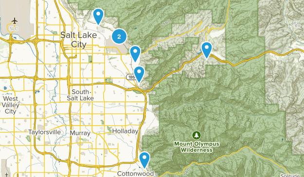 Utah Hikes Map