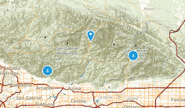Local Hikes Map