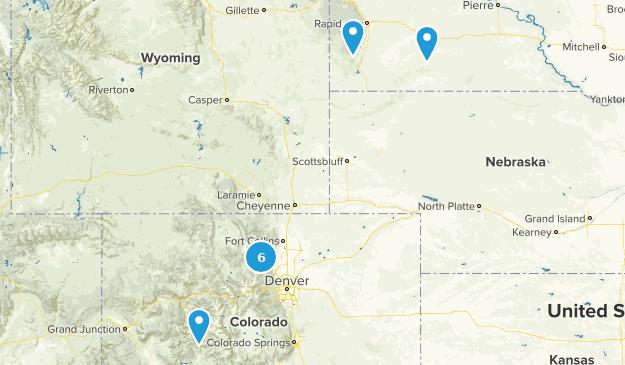 Rocky Mountain (Denver) Map