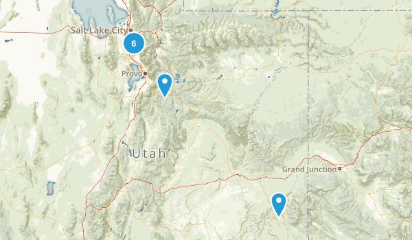 Medium Hikes Map