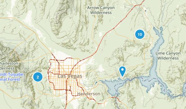 Nevada Bucket List Map
