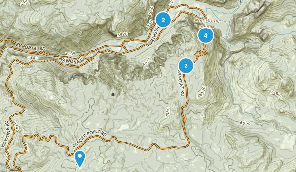 Yosemite - Apr 2017 Map