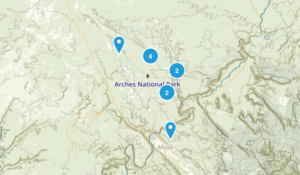 arches Map