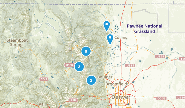 family hikes Map