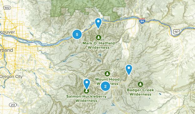 Mt Hood Map