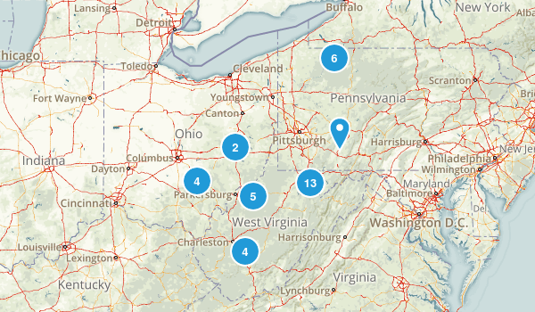 Weekend Trips Map