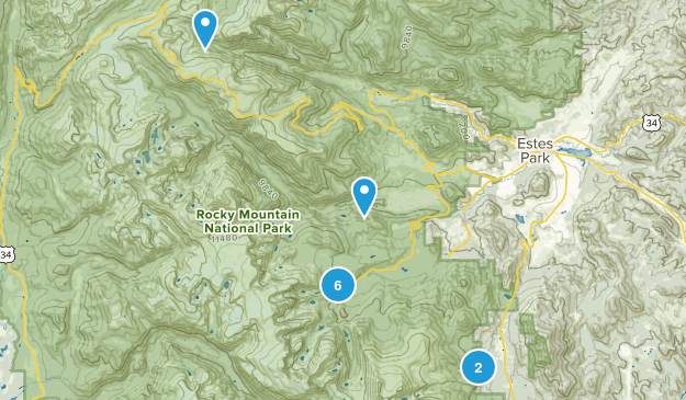 Rocky Mtns Map