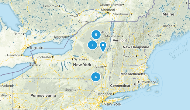 Firetower Challenge Map