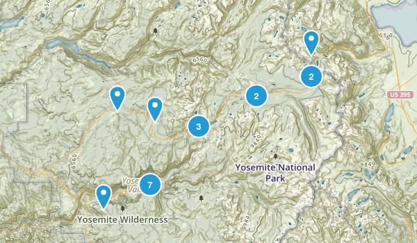 Yosemite NP Map