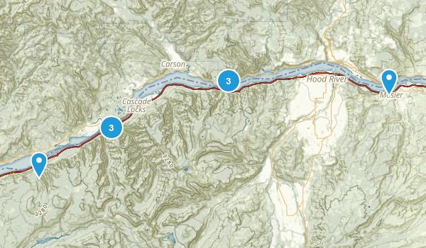Gorge Map
