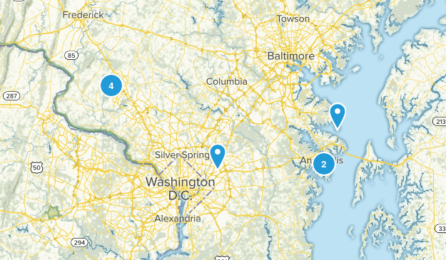 MD trails to complete Map