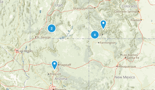 Summer Trip-Trails Map