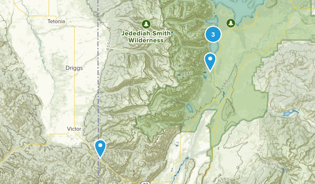 Teton Map