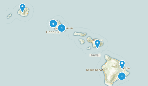 Hawaii To-Dos Map