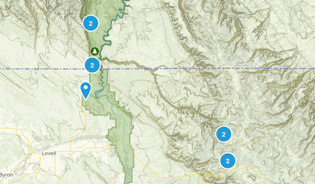 Bighorn Canyon National Rec Map