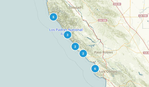 Pacific Coast Hwy Map